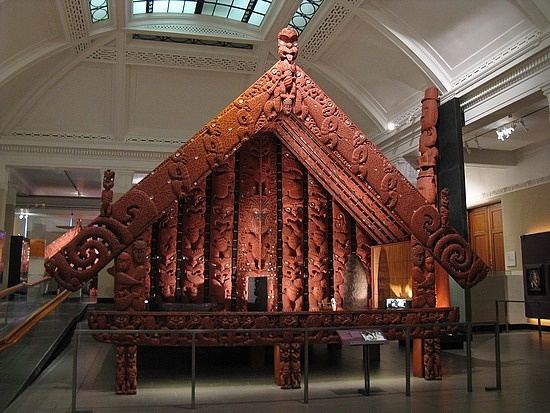 Aukland Museum; a Maori Storehouse.