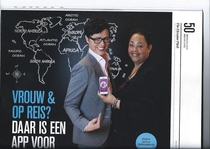 @muldimedia: De nieuwe Opzij ligt vandaag in de winkel en wij staan er in met 2 blz over onze @Blushrr app voor vrouwen #trots