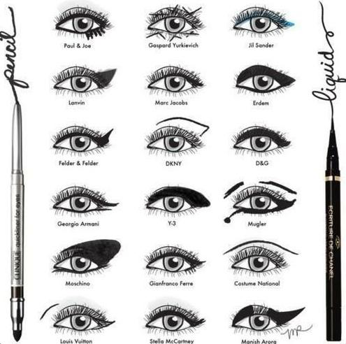 which one?: Make Up, Cat Eye, Fashion Week, Makeup Ideas, Eye Makeup Tips, Makeup Looks, Eyemakeup, Eye Liner, Eyeliner Style