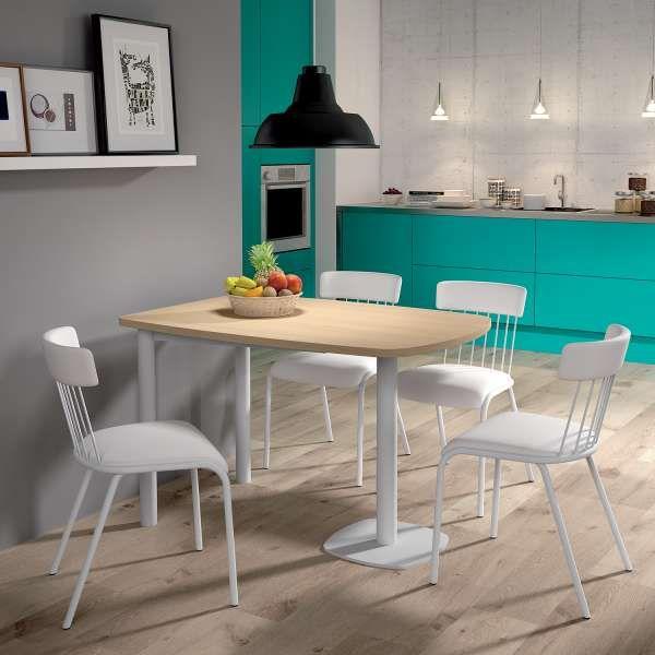 Table De Cuisine En Stratifi. Sol Stratifie Cuisine Des Carreaux
