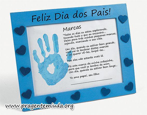 Cartão para dias do pais em EVA passo a passo