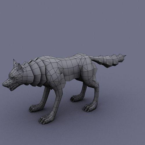 ... Rei wolf cartoon animal ...
