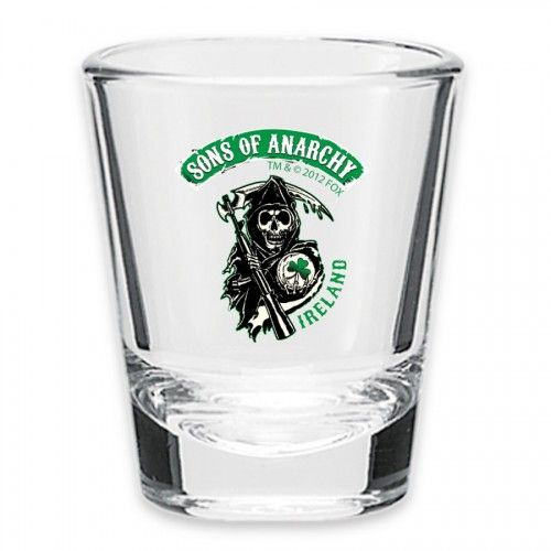 Sons of Anarchy Ireland Reaper Shot Glass