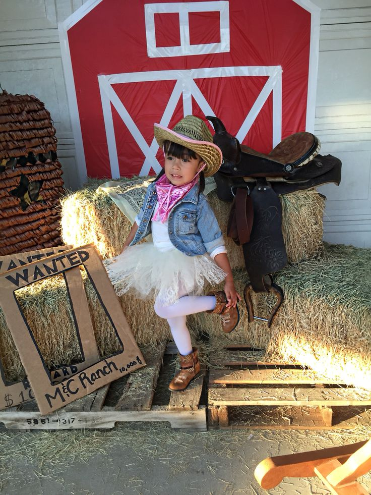 Toddler cowgirl outfit