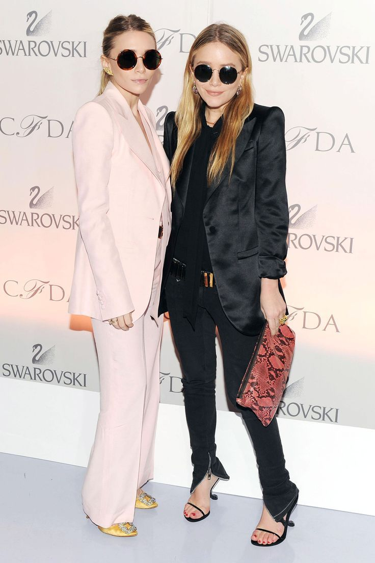 The Olsen twins: style ideas for petite women