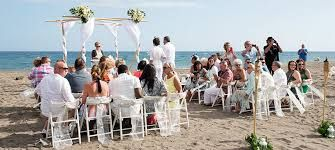 Image result for beach wedding ceremony setup