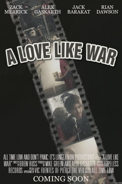 songs as movie posters | a love like war - all time low (ft. vic fuentes)