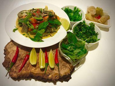 Jemy Pijemy : Tajskie żółte curry wegetariańskie. Yellow vegetarian thai curry.