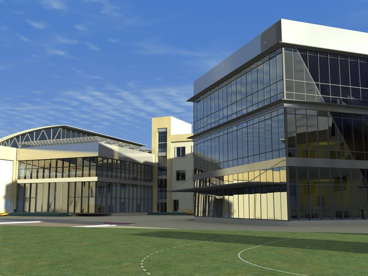 Proposed design of the building