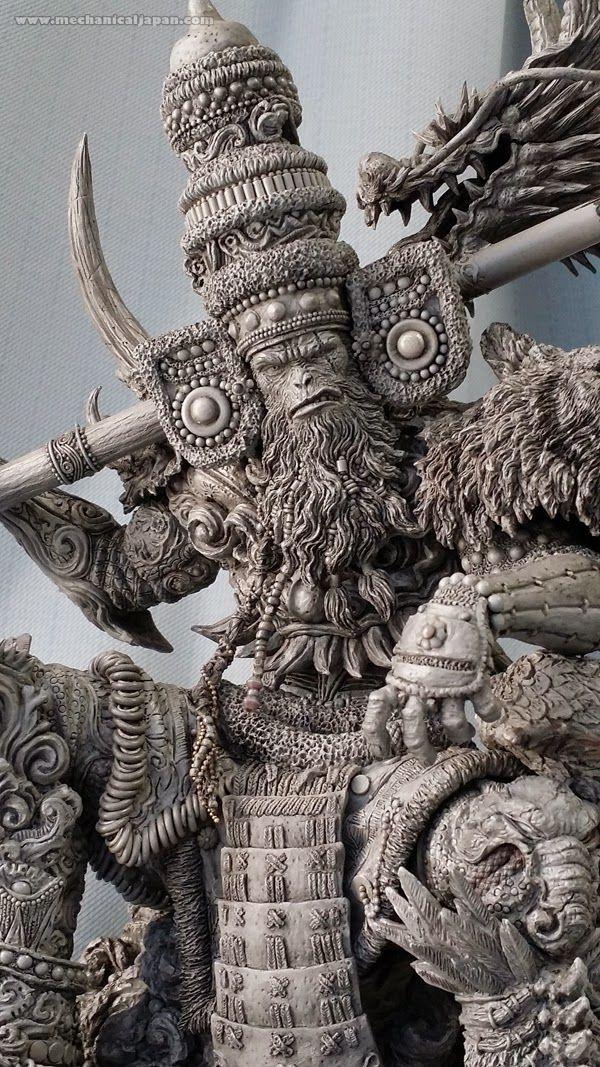 Mechanical Japan: [Artistas del Mundo de las Figuras] Entrevista a Keiji Iwakura