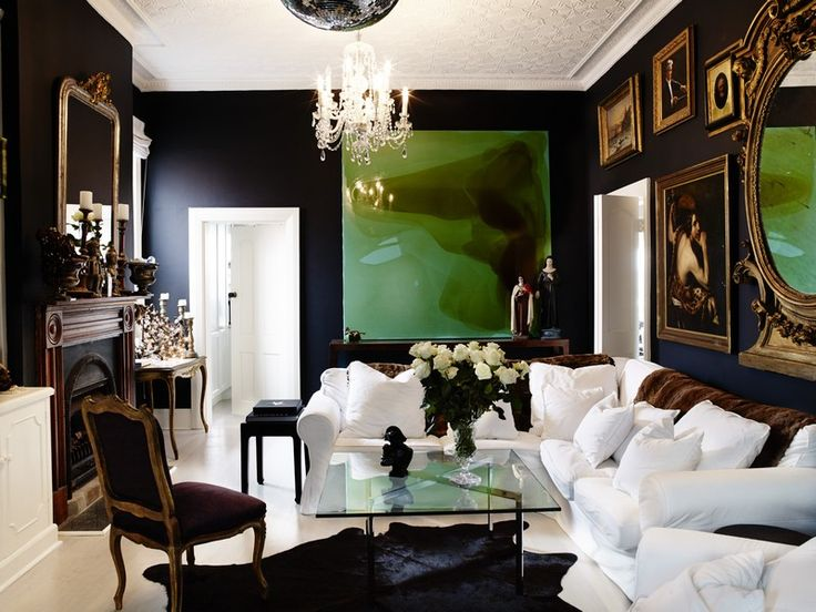 17 Best Ideas About Dark Living Rooms On Pinterest | Large