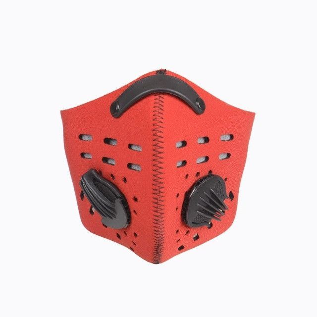 Anti-Pollution Bike Cycling Bicycle Riding Motorcycle Motocross Racing Face Mask Running Training Mouth-Muffle Dustproof Filter