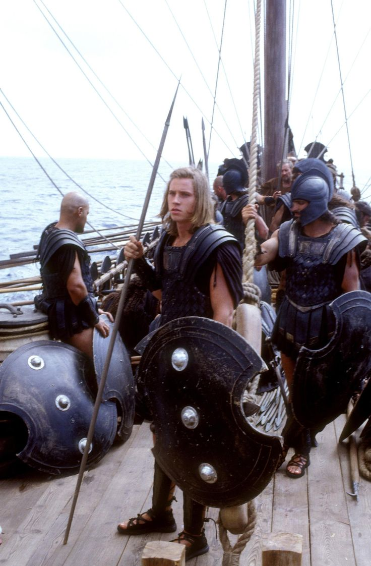 Garrett Hedlund In Troy (2004)