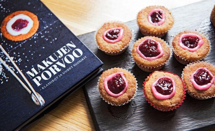 Runebergintortuista voi tehdä myös pienempiä torttusia. Ruokatoimittaja Petra Tuominen kertoo, miksi se kannattaa.