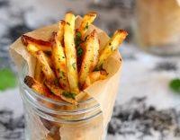 Česnekové hranolky zdravě