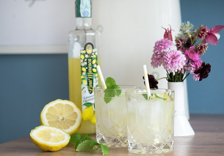 Frisk sød og syrlig sommercocktail – perfekt til at skåle weekenden ind i. Limoncello cocktail med gin og danskvand, helt enkelt og lækkert. I Italien fik vi flere gange serveret et lille glas afkølet limoncello efter middagen og jeg elsker smagen af den søde citronlikør – så naturligvis måtte vi have en med hjem i… Læs mere ›