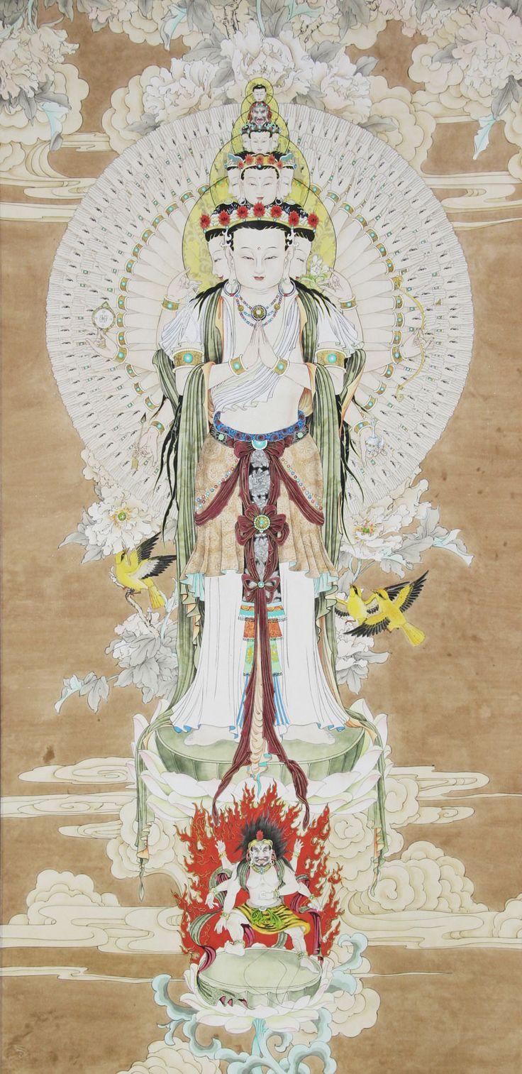 Avalokitesvara como Kuan Yin