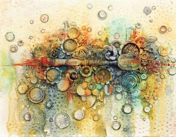 Mixed media art projects ideas