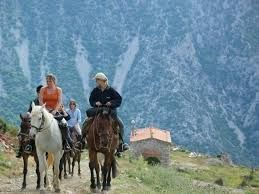 Avdou village is perfect for outdoor activities #horseriding #village #mountains #crete #greece