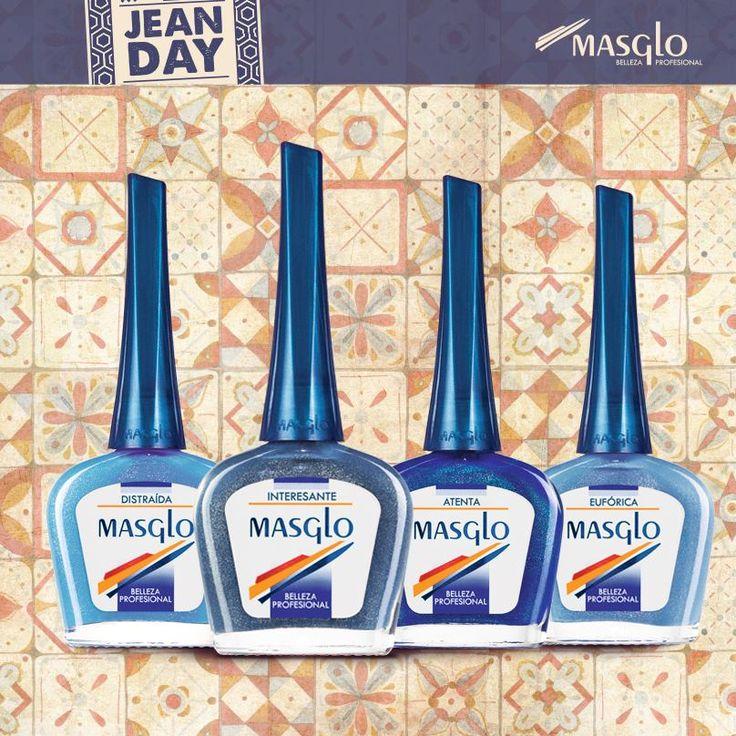 Colección Jean Day #SoyMasglo #Masglo #MasgloLOVERS #ColeccionJeanDay #NailPolish