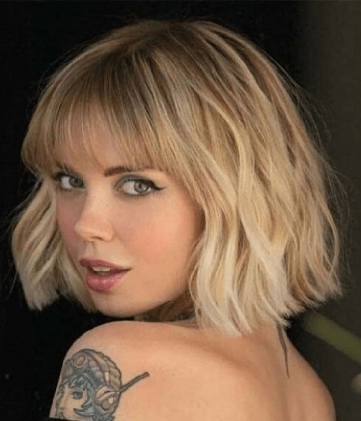 Bob hairstyles that will convince you to get the chop - Locate Your Look | Bob hairstyles, Bobbed hairstyles with fringe, Short hair fringe
