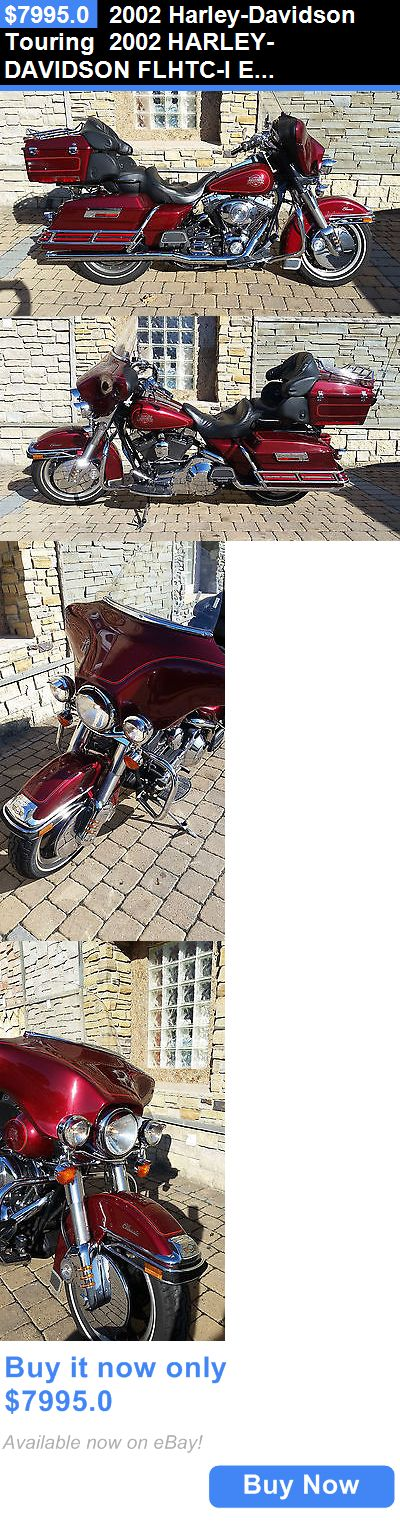 Motorcycles: 2002 Harley-Davidson Touring 2002 Harley-Davidson Flhtc-I Electra Glide Classic BUY IT NOW ONLY: $7995.0