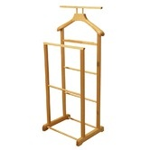 Found it at Wayfair.co.uk - Solid Wood Double Clothes Valet Stand / Hanging Rail