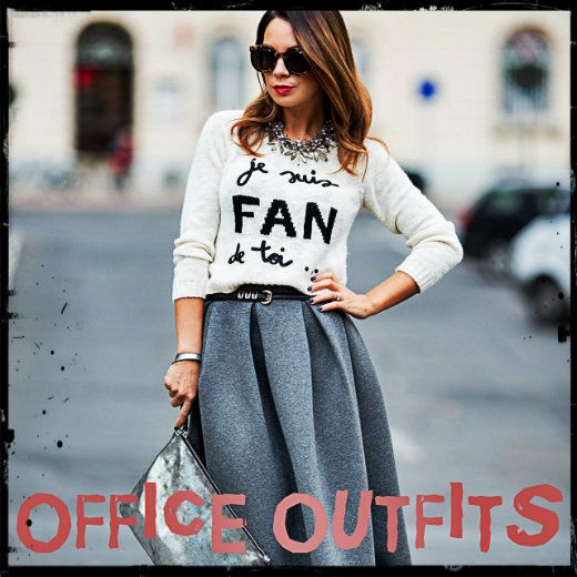 Χειμωνιάτικα Σύνολα Για Το Γραφείο / Winter Office Outfits