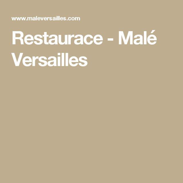 Restaurace - Malé Versailles