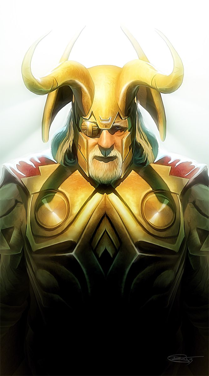Odin by Daniel Scott Gabriel Murray #Thor
