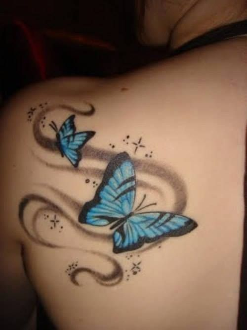 """I want this but, for it to go from my foot, up my side, and making the word """"Free"""" or """"Freedom"""" on my chest"""