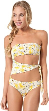 This one piece is so cute!  I would wear this