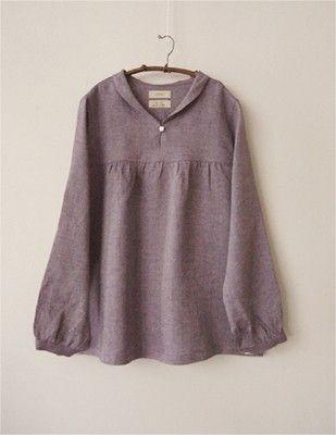 Linen blouse by janette