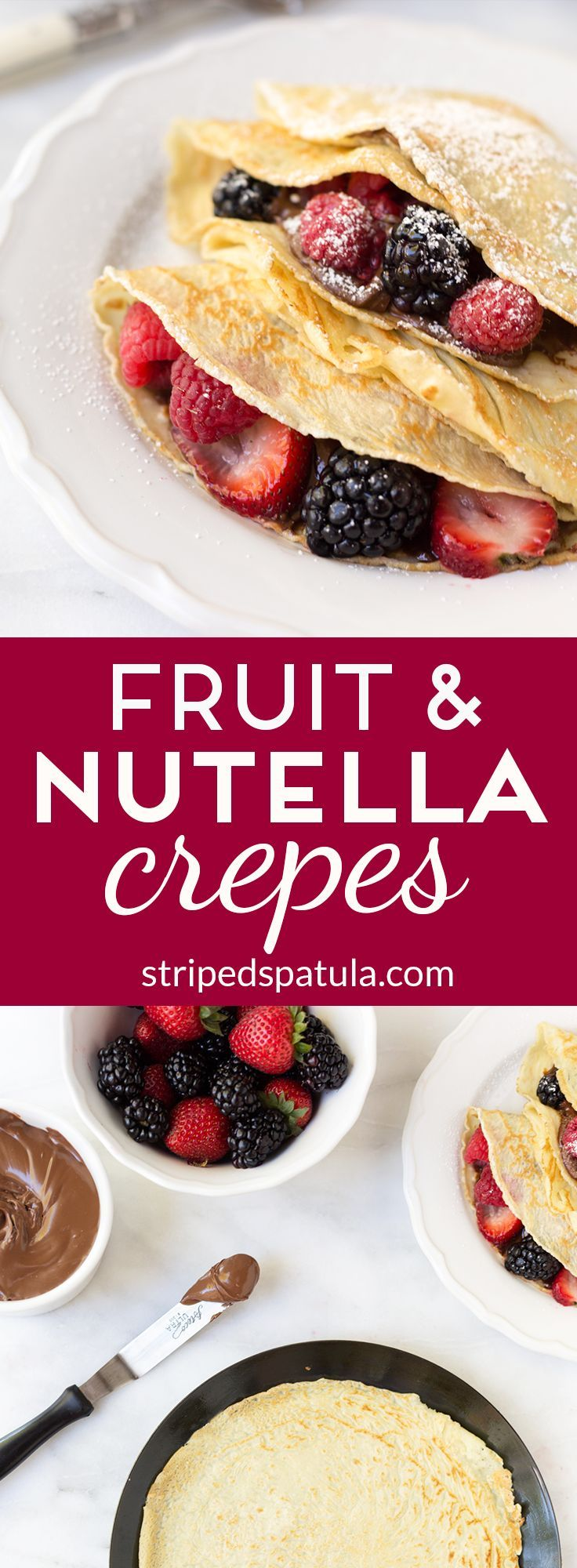 Crepes with Nutella and Fruit are a delicious way to bring a taste of the 2016 New York Wine and Food Festival home! Sponsored by ShopRite.