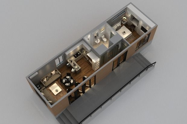 Building a granny flat could now take just hours and cost less than $10,000.
