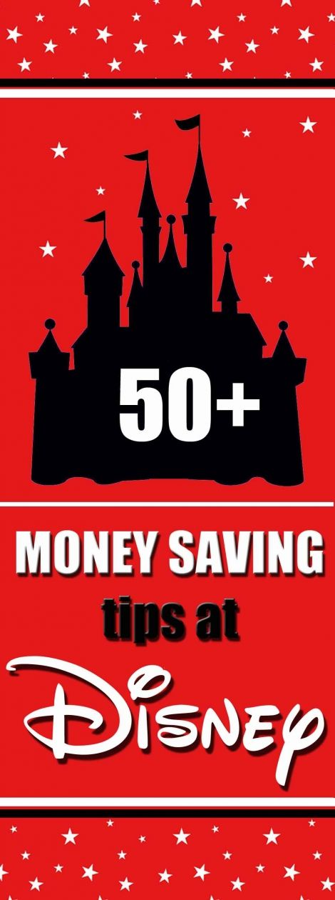 50+ Money saving tips for your vacation to Walt Disney World in Orlando, Florida.  Have the best holiday possible at the lease cost - by clever budgeting for your trip.