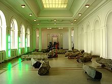 The End of the Twentieth Century - Das Ende des 20. Jahrhunderts on display in the Hamburger Bahnhof  Wiki
