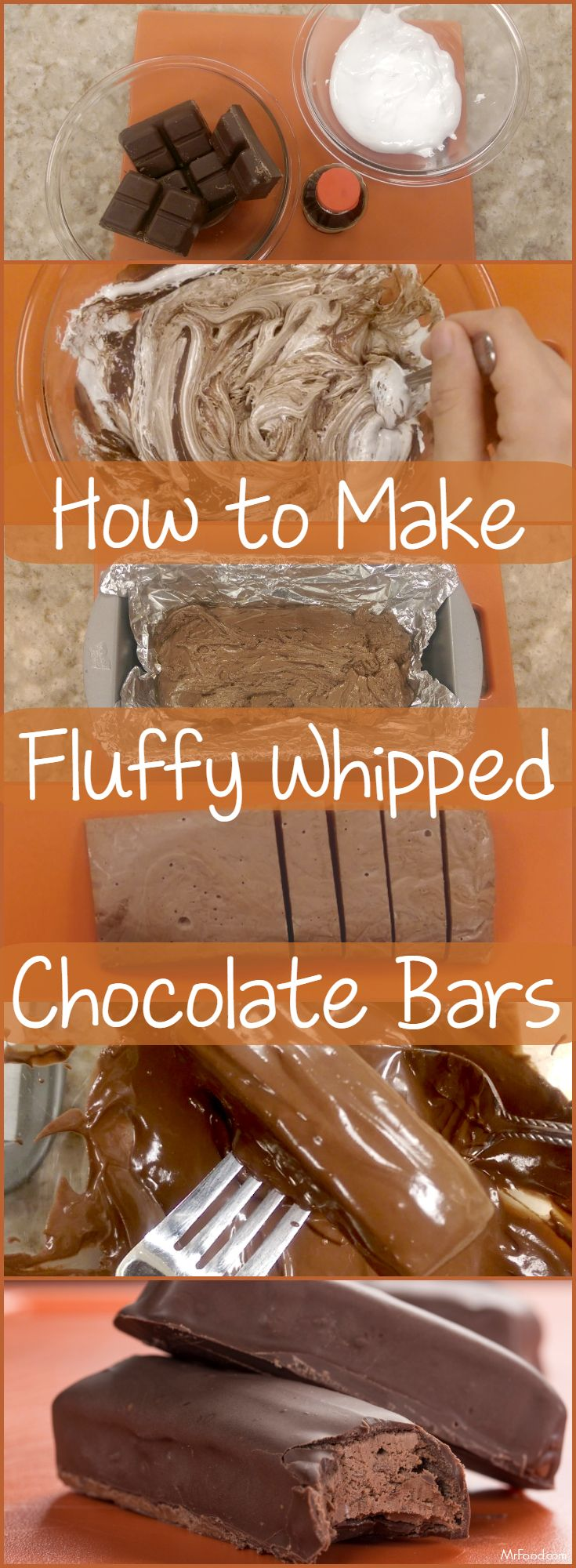 "This copycat version of one of your favorite ""fluffy"" chocolate candy bars is so easy, you may never buy it again!"