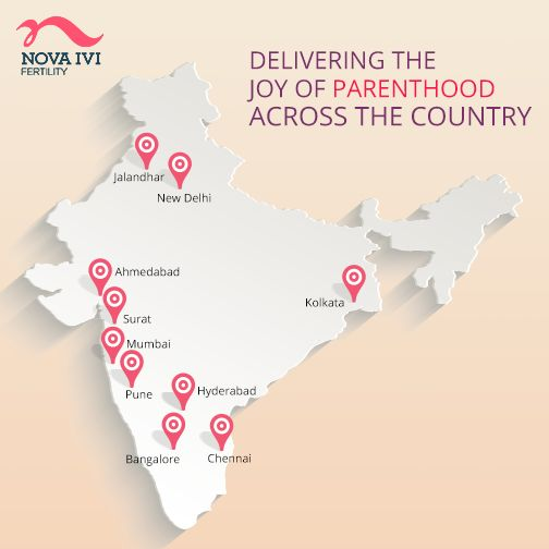 With our vision to be the best-in-class in the field of fertility treatments, we are proud to be located in the leading metropolitans of the country and are expanding at a fast pace. :