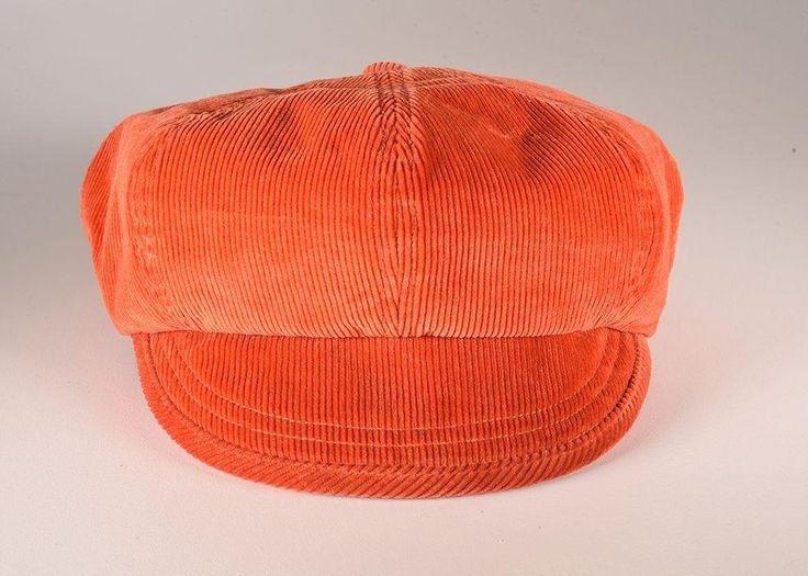 Fallen Broken Street - The Oliver Corduroy Cap Orange