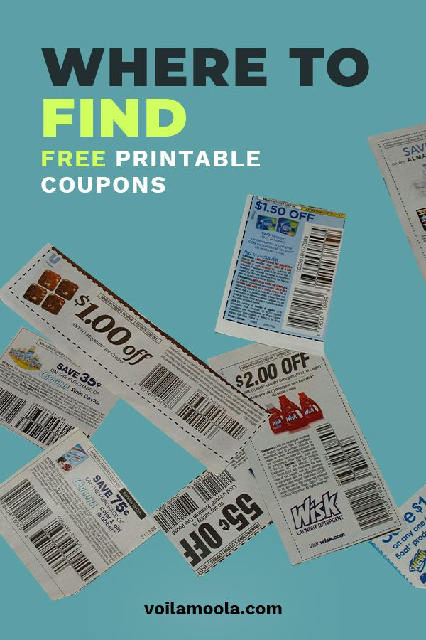 Where To Find Free Printable Coupons Voila Moola In 2020 Free Printable Coupons Free Printable Grocery Coupons Printable Coupons