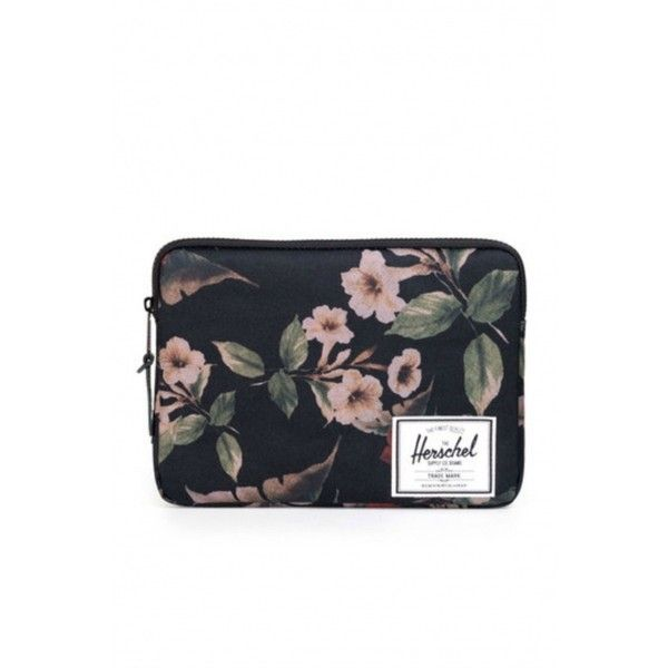 "Herschel Supply Anchor 13"" Laptop Sleeve in Hawaiian Camo ($26) ❤ liked on…"