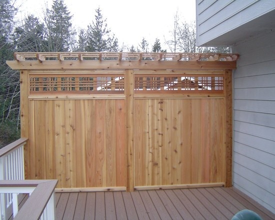 Traditional Patio Fence Design Pictures Remodel Decor And Ideas Page