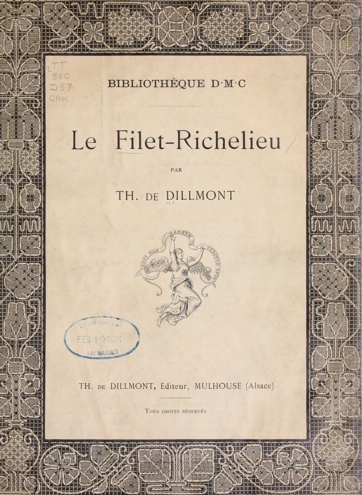 Le Filet-Richelieu lace