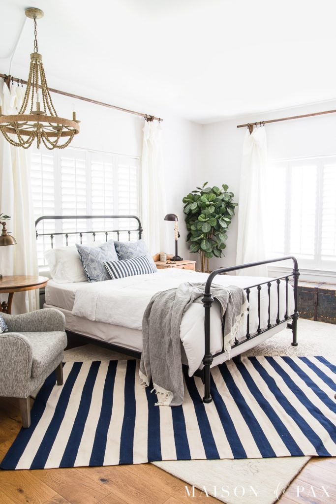 16+ Blue and white master bedroom ideas cpns 2021
