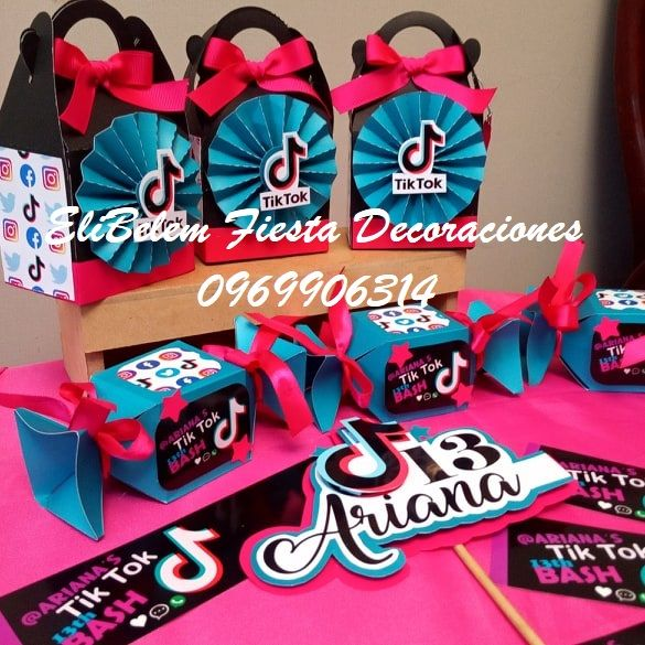 Cotillones Tik Tok Birthday Party For Teens Birthday Party Design 12th Birthday Party Ideas