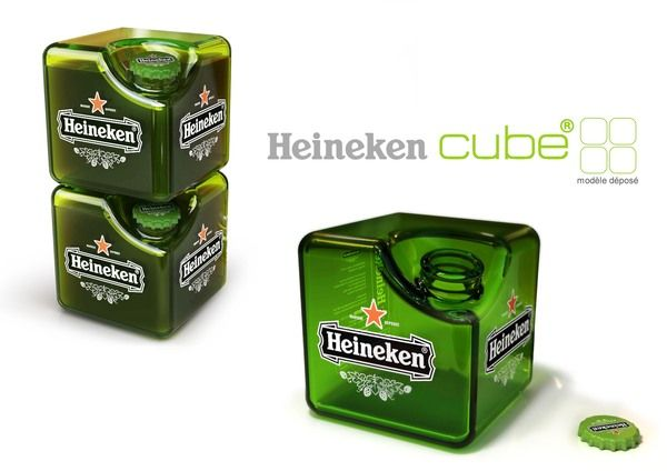 Heineken Cube - too cool, article after the jump about using them as bricks for housing