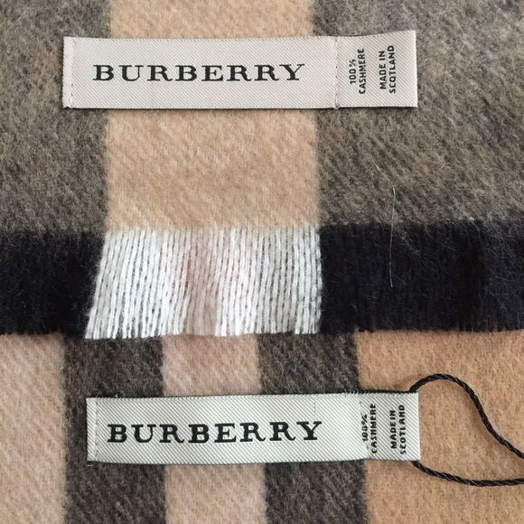Authentic Burberry Vs Fake Educate Yourself Stitching