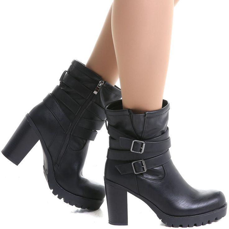 Zapatos con cremallera góticos para mujer Legero Mira dFBEBtO