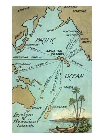 Best Maps Images On Pinterest Map Of Hawaii Hawaiian Islands - Map of usa and hawaii